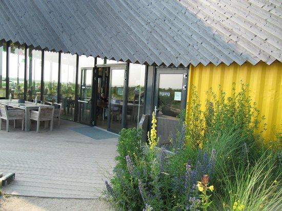 Restaurant Aan Zee : Ingang