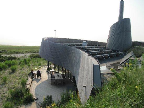 Restaurant Aan Zee : Dak met uitkijktoren