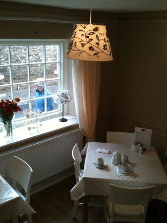 Massey's traditional tea room