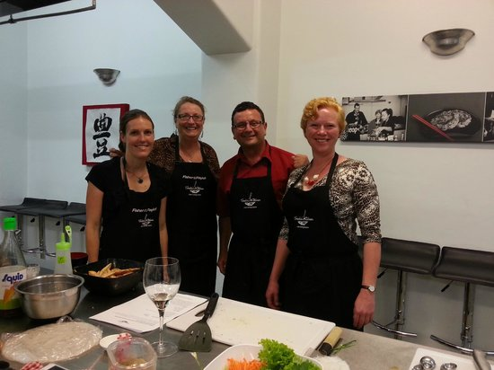 Sachie's Kitchen: The Hrtoolkit team