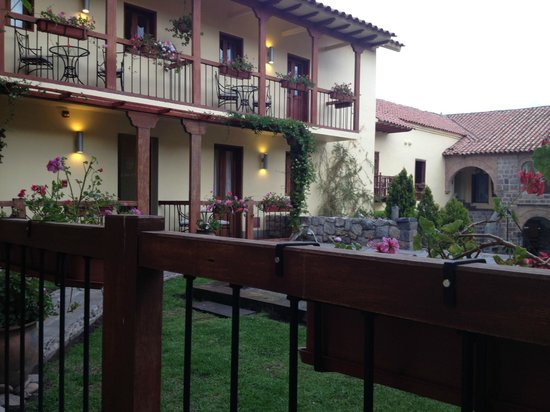 Casa Cartagena Boutique Hotel & Spa : Casa Caratgena vista desde la habitación