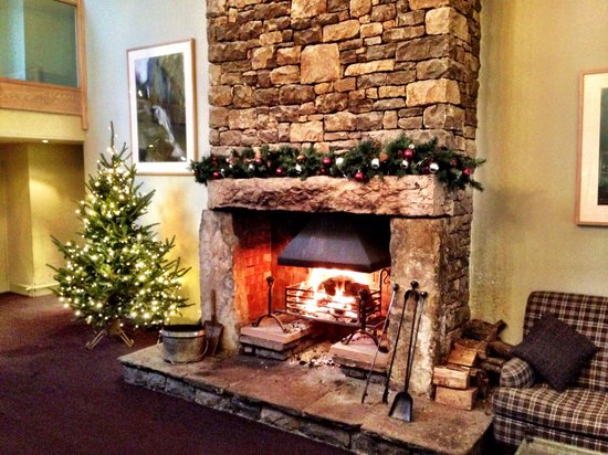 Tebay Services Hotel : Nice open fire