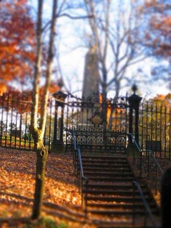 Monticello : Jefferson's grave