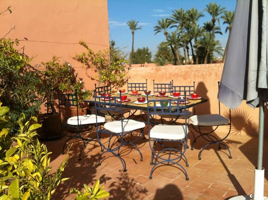 Riad Dar Nimbus : terrasse