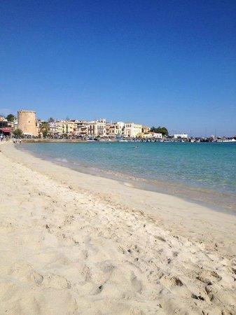 Rosadeiventi : spiaggia vista torre