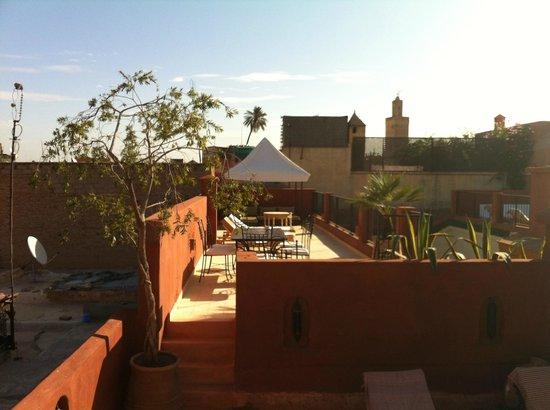 Riad Dar Nimbus: terrasse