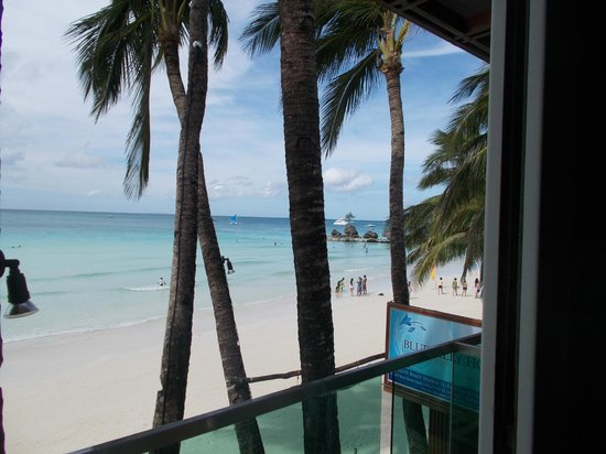 Bluelilly Hotel : from the priv balcony