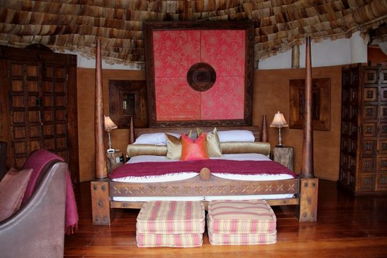 andBeyond Ngorongoro Crater Lodge: Our beautiful room
