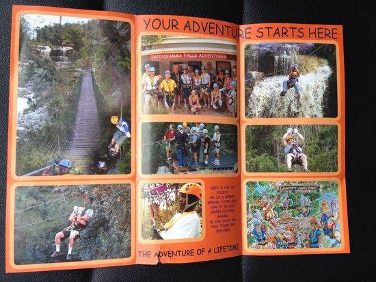 Tsitsikamma Falls Adventures: Folder 1