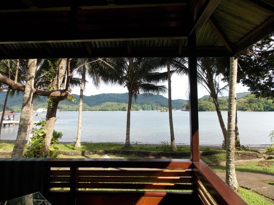 Kungkungan Bay Resort: View from the porch