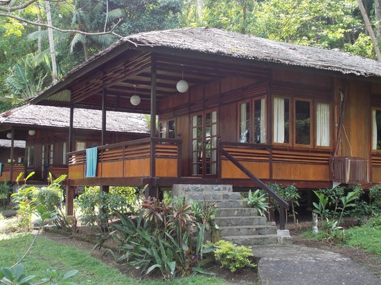 Kungkungan Bay Resort : Our cottage