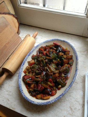Sicilian Demo Cooking: Caponata