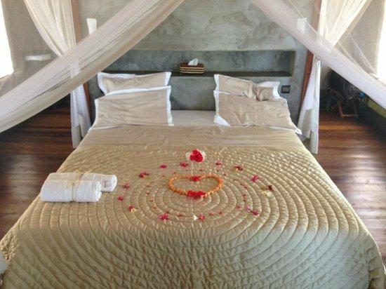 Eden Lodge: Bed