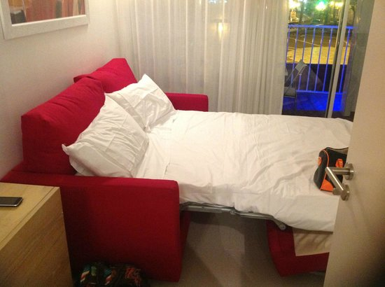 Résidence Bleu Mer : canapé lit