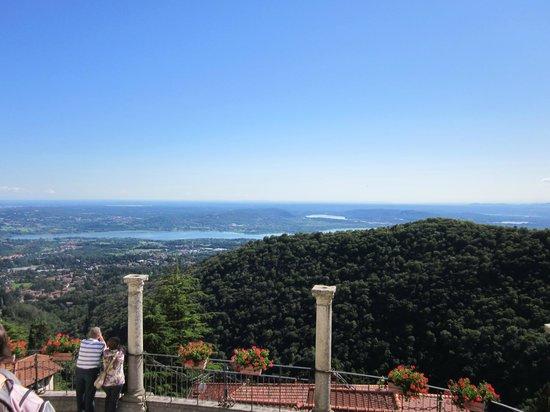 Sacro Monte Unesco di Varese: vista dal Sacro Monte
