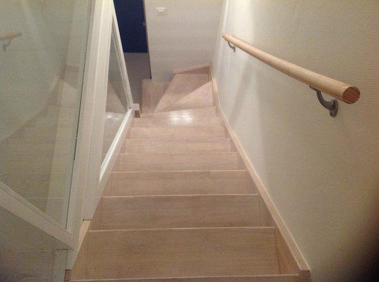 Residence Bleu Mer: escalier duplex