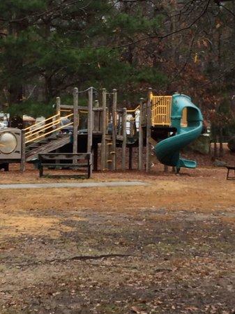 Stone Mountain Family Campground: Kids Playground
