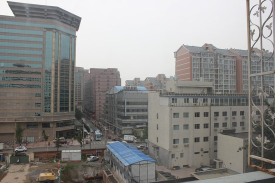 Chongwenmen Hotel: View from room