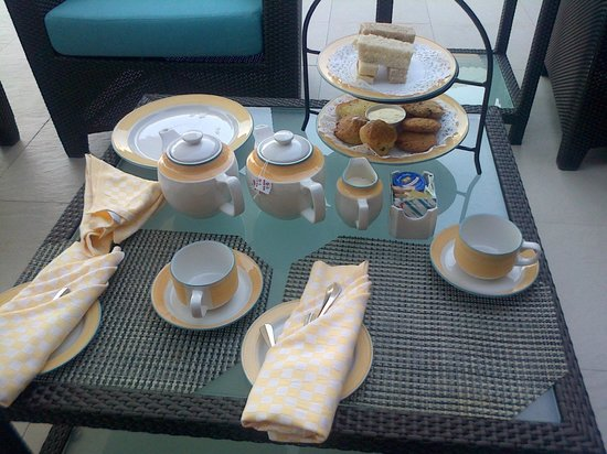 Spice Island Beach Resort: Afternoon tea