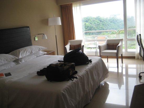 Meliá Iguazu Resort & Spa: Room on third floor, king bed