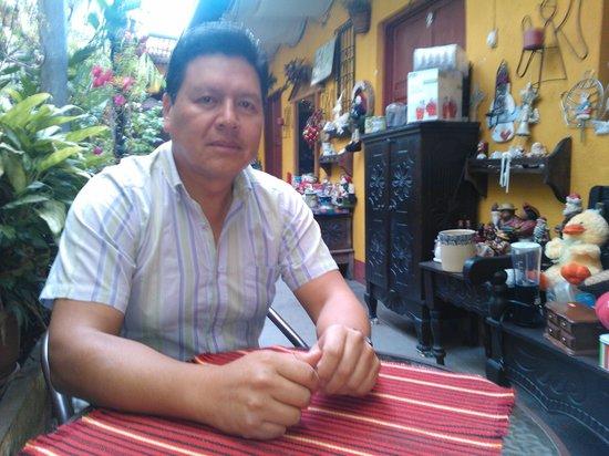 Hotel Los Encuentros: Listo para el desayuno