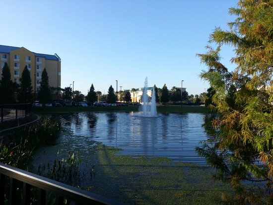 SpringHill Suites Orlando at SeaWorld® : hotel's lake