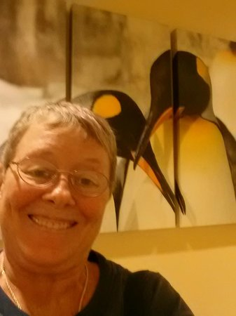 SpringHill Suites by Marriott Orlando at SeaWorld : me & wall hanging