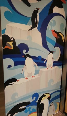 SpringHill Suites by Marriott Orlando at SeaWorld : elevator door