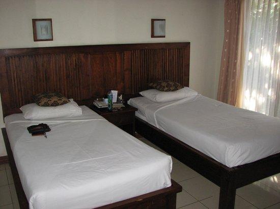 Puri Dalem Hotel : Bedroom