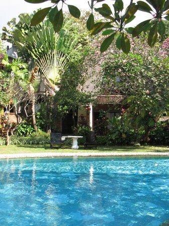 Puri Dalem Hotel: Grounds
