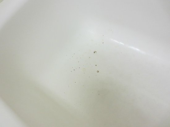 Stetson Village Inn: Black mold in our 2nd room bathtub