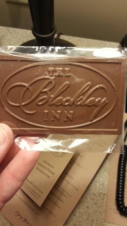 Bleckley Inn: Nice Touch - From Local Chocolatier on Bed
