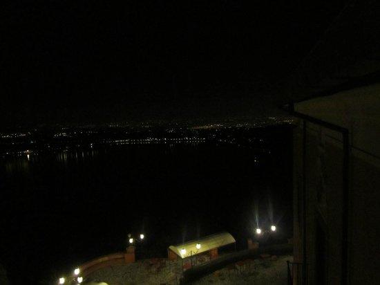 Villa del Cardinale: vista dalla camera