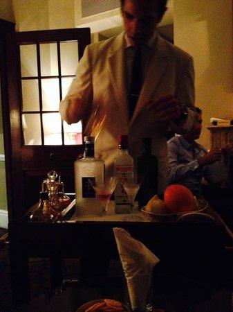 Dukes Bar : Its quite involved.