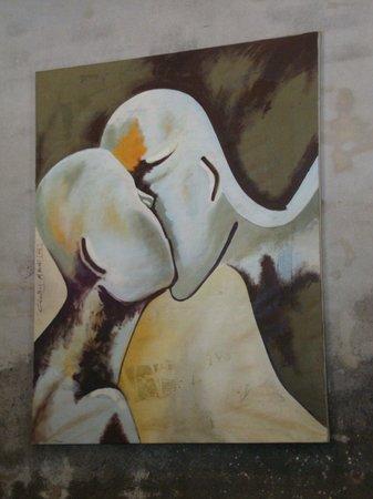 Joma Bakery Cafe: JOMA painting