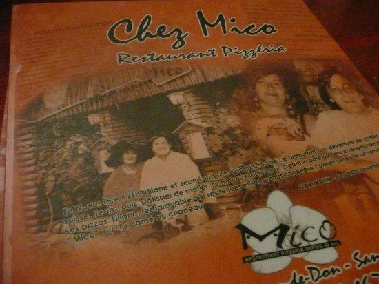Chez Mico: souvenir