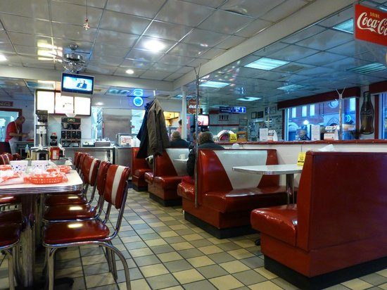 Spot Restaurant : The interior of The Spot.