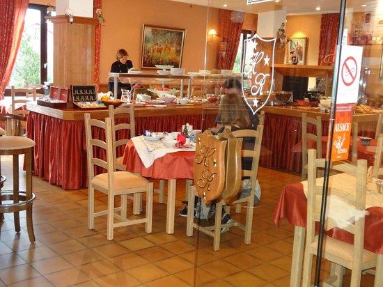 Hotel Le Riquewihr : Salle petit-déjeuner