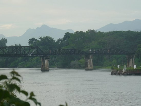 U Inchantree Kanchanaburi: the Bridge from the hotel
