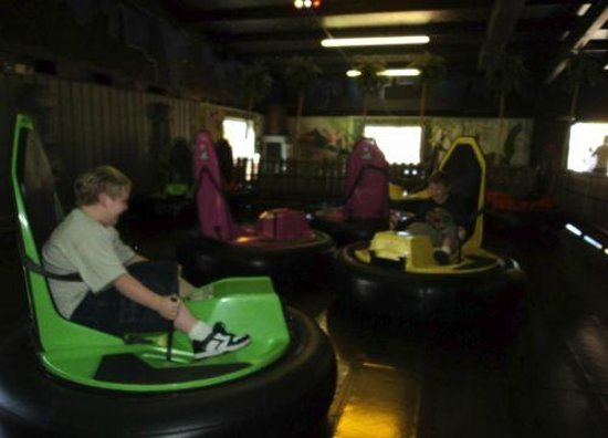 Southern Adventures: woohoo bumper cars!