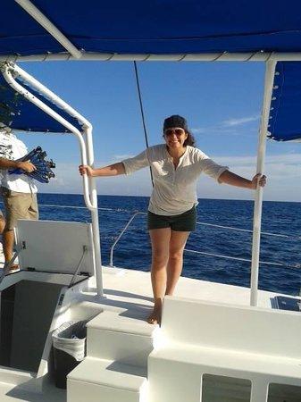 Paradise Catamarans: en el catamaran
