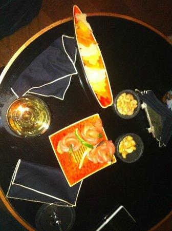 Le Bar du Bristol : Les tapas