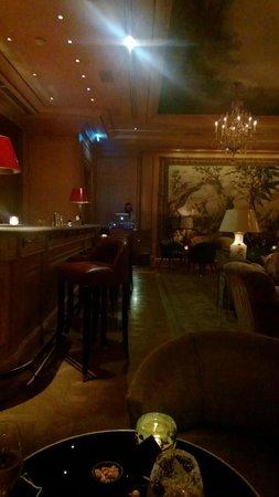 Le Bar du Bristol : La déco