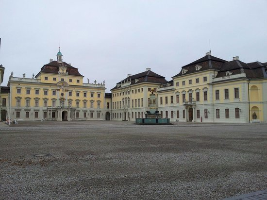 Ludwigsburg Palace (Residenzschloss): Cortile