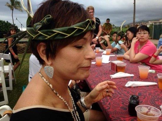 FIA FIA Polynesian Show : Palm Frond headband