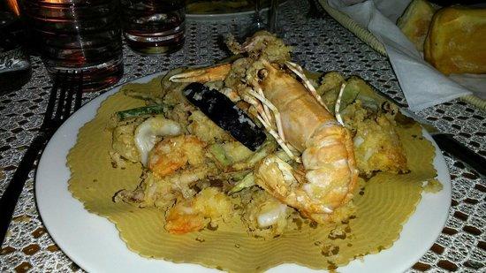 Osteria ae Spezie : Frittura di pesce