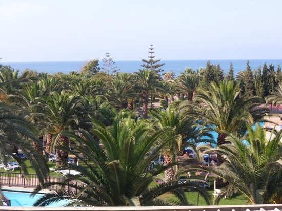 Hotel Manar: view from our balcony