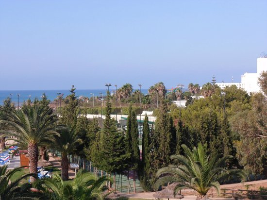 Hotel Manar: view from balcony