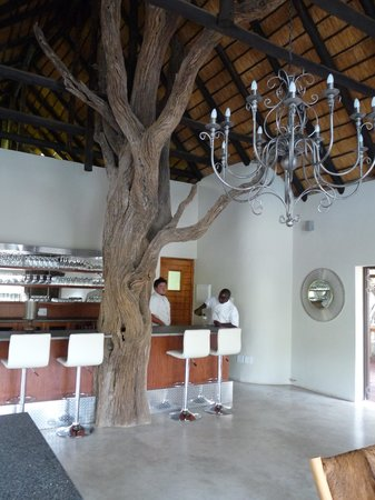 Moditlo River Lodge restaurant