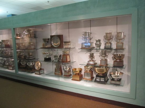 World Figure Skating Museum & Hall of Fame: trophies